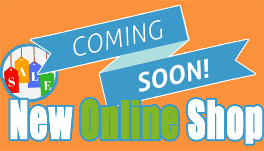 coming-soon new online shop