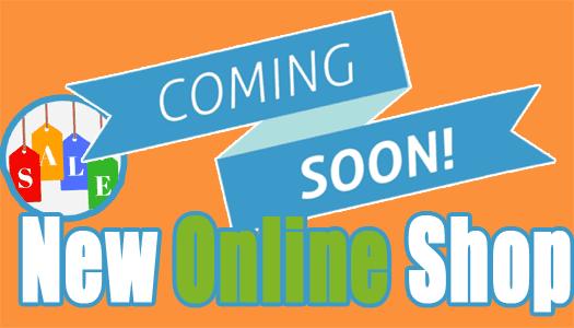 coming-soon new online shop